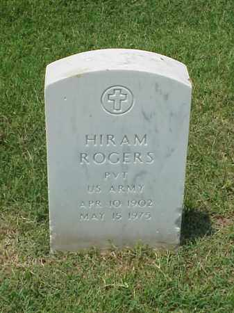 ROGERS (VETERAN WWI), HIRAM - Pulaski County, Arkansas | HIRAM ROGERS (VETERAN WWI) - Arkansas Gravestone Photos