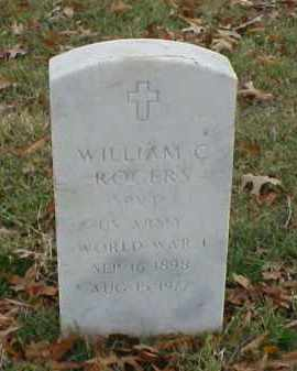 ROGERS (VETERAN WWI), WILLIAM C - Pulaski County, Arkansas   WILLIAM C ROGERS (VETERAN WWI) - Arkansas Gravestone Photos