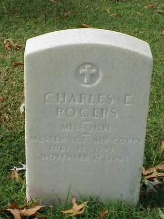 ROGERS (VETERAN WWII), CHARLES E - Pulaski County, Arkansas | CHARLES E ROGERS (VETERAN WWII) - Arkansas Gravestone Photos