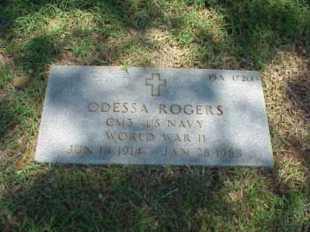 ROGERS (VETERAN WWII), ODESSA - Pulaski County, Arkansas   ODESSA ROGERS (VETERAN WWII) - Arkansas Gravestone Photos