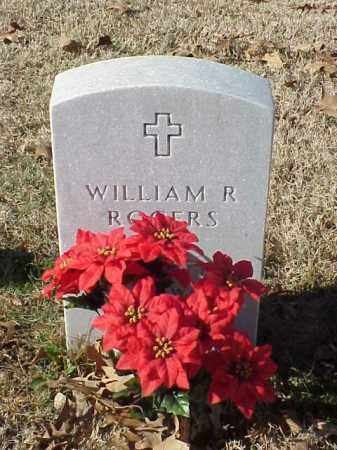ROGERS (VETERAN WWII), WILLIAM R - Pulaski County, Arkansas | WILLIAM R ROGERS (VETERAN WWII) - Arkansas Gravestone Photos