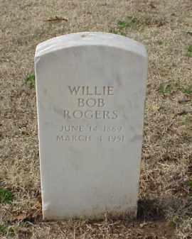 ROGERS (VETERAN WWI), WILLIE BOB - Pulaski County, Arkansas   WILLIE BOB ROGERS (VETERAN WWI) - Arkansas Gravestone Photos