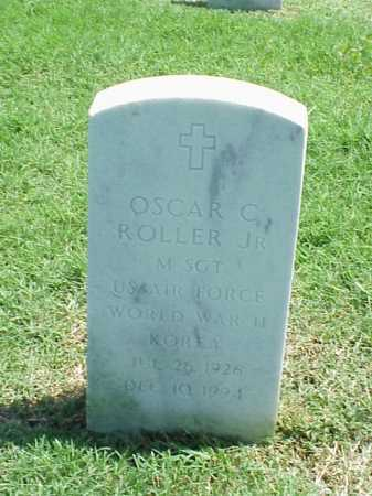 ROLLER, JR (VETERAN 2 WARS), OSCAR C - Pulaski County, Arkansas   OSCAR C ROLLER, JR (VETERAN 2 WARS) - Arkansas Gravestone Photos