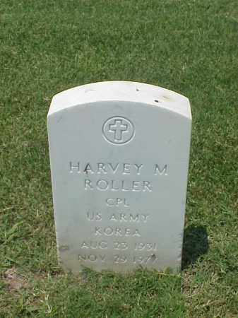 ROLLER (VETERAN KOR), HARVEY M - Pulaski County, Arkansas | HARVEY M ROLLER (VETERAN KOR) - Arkansas Gravestone Photos