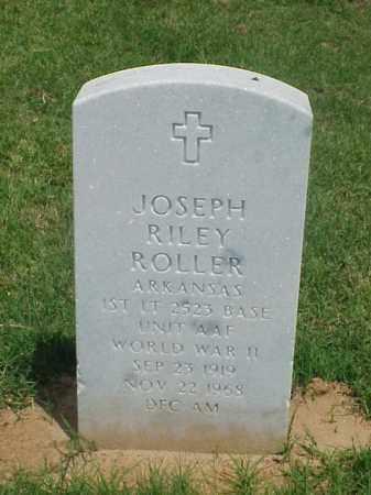 ROLLER (VETERAN WWII), JOSEPH RILEY - Pulaski County, Arkansas | JOSEPH RILEY ROLLER (VETERAN WWII) - Arkansas Gravestone Photos