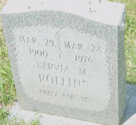 ROLLINS, BERVIA  M - Pulaski County, Arkansas | BERVIA  M ROLLINS - Arkansas Gravestone Photos