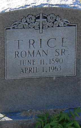 ROMAN, SR, TRICE - Pulaski County, Arkansas | TRICE ROMAN, SR - Arkansas Gravestone Photos