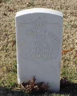 ROMBAUGH (VETERAN SAW), WALLACE N - Pulaski County, Arkansas | WALLACE N ROMBAUGH (VETERAN SAW) - Arkansas Gravestone Photos