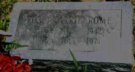 ROME, ROSE MARRIE - Pulaski County, Arkansas   ROSE MARRIE ROME - Arkansas Gravestone Photos