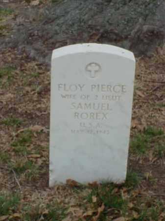 ROREX, FLOY - Pulaski County, Arkansas | FLOY ROREX - Arkansas Gravestone Photos
