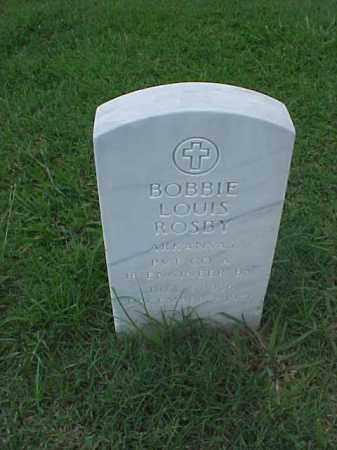 ROSBY (VETERAN KOR), BOBBIE LOUIS - Pulaski County, Arkansas | BOBBIE LOUIS ROSBY (VETERAN KOR) - Arkansas Gravestone Photos