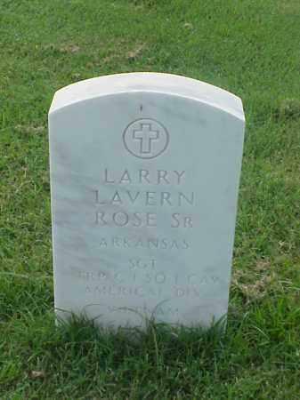 ROSE, SR (VETERAN VIET), LARRY LAVERN - Pulaski County, Arkansas | LARRY LAVERN ROSE, SR (VETERAN VIET) - Arkansas Gravestone Photos