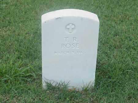 ROSE, T R - Pulaski County, Arkansas   T R ROSE - Arkansas Gravestone Photos