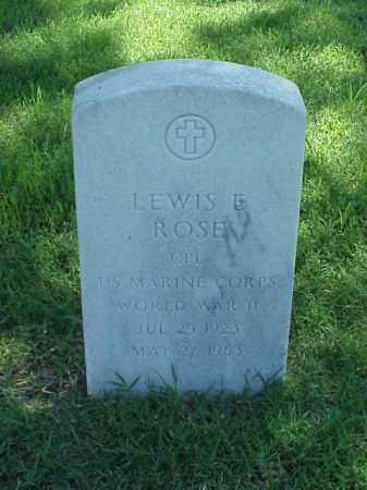 ROSE (VETERAN WWII), LEWIS E - Pulaski County, Arkansas | LEWIS E ROSE (VETERAN WWII) - Arkansas Gravestone Photos