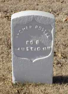 ROSELL (VETERAN UNION), ARCHER - Pulaski County, Arkansas   ARCHER ROSELL (VETERAN UNION) - Arkansas Gravestone Photos