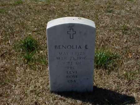 ROSS, BENOLIA L - Pulaski County, Arkansas   BENOLIA L ROSS - Arkansas Gravestone Photos