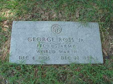 ROSS, JR (VETERAN WWII), GEORGE - Pulaski County, Arkansas | GEORGE ROSS, JR (VETERAN WWII) - Arkansas Gravestone Photos