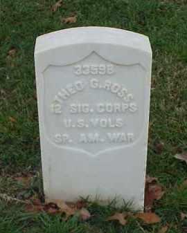 ROSS (VETERAN SAW), THEO - Pulaski County, Arkansas | THEO ROSS (VETERAN SAW) - Arkansas Gravestone Photos