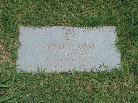 ROSS (VETERAN WWII), LEWIS H - Pulaski County, Arkansas   LEWIS H ROSS (VETERAN WWII) - Arkansas Gravestone Photos