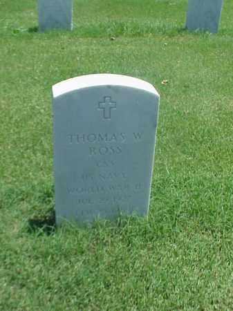 ROSS (VETERAN WWII), THOMAS W - Pulaski County, Arkansas | THOMAS W ROSS (VETERAN WWII) - Arkansas Gravestone Photos