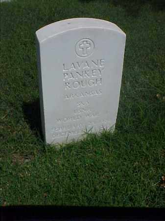 ROUGH (VETERAN WWII), LAVANE PANKEY - Pulaski County, Arkansas | LAVANE PANKEY ROUGH (VETERAN WWII) - Arkansas Gravestone Photos