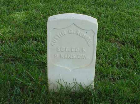 ROWELL (VETERAN UNION), AUSTIN G - Pulaski County, Arkansas | AUSTIN G ROWELL (VETERAN UNION) - Arkansas Gravestone Photos