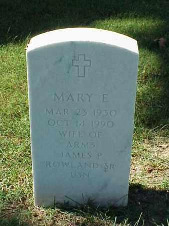 ROWLAND, MARY E - Pulaski County, Arkansas   MARY E ROWLAND - Arkansas Gravestone Photos