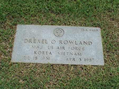 ROWLAND (VETERAN 2 WARS), DREXEL O - Pulaski County, Arkansas | DREXEL O ROWLAND (VETERAN 2 WARS) - Arkansas Gravestone Photos
