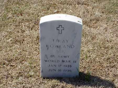 ROWLAND (VETERAN WWII)), THOMAS RAY - Pulaski County, Arkansas | THOMAS RAY ROWLAND (VETERAN WWII)) - Arkansas Gravestone Photos