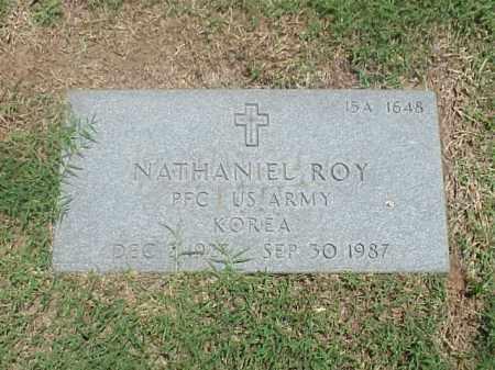ROY (VETERAN KOR), NATHANIEL - Pulaski County, Arkansas | NATHANIEL ROY (VETERAN KOR) - Arkansas Gravestone Photos