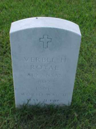 ROYAL (VETERAN WWII), VERBLE H - Pulaski County, Arkansas | VERBLE H ROYAL (VETERAN WWII) - Arkansas Gravestone Photos