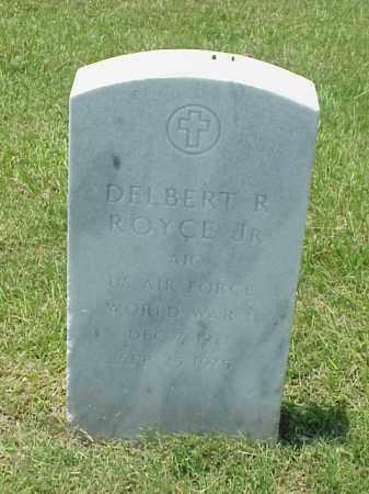 ROYCE, JR (VETERAN WWII), DELBERT R - Pulaski County, Arkansas   DELBERT R ROYCE, JR (VETERAN WWII) - Arkansas Gravestone Photos