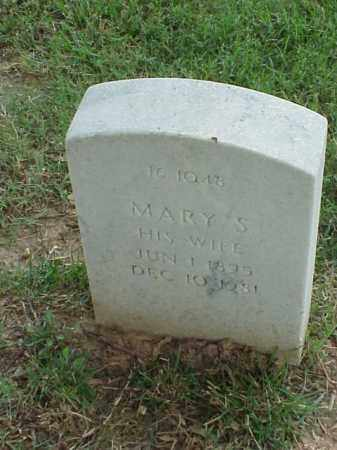 RUCKER, MARY S - Pulaski County, Arkansas | MARY S RUCKER - Arkansas Gravestone Photos