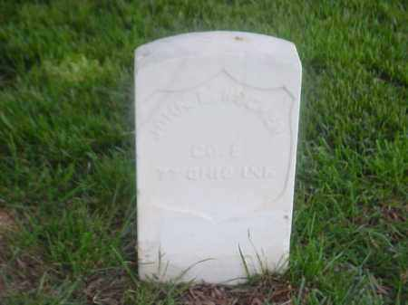 RUCKER (VETERAN UNION), JOHN E - Pulaski County, Arkansas | JOHN E RUCKER (VETERAN UNION) - Arkansas Gravestone Photos
