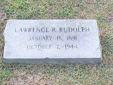RUDOLPH, LAWRENCE R - Pulaski County, Arkansas | LAWRENCE R RUDOLPH - Arkansas Gravestone Photos