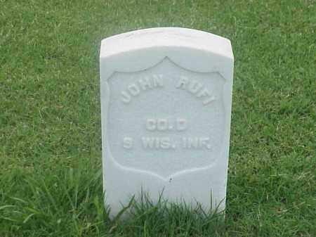 RUFI (VETERAN UNION), JOHN - Pulaski County, Arkansas | JOHN RUFI (VETERAN UNION) - Arkansas Gravestone Photos