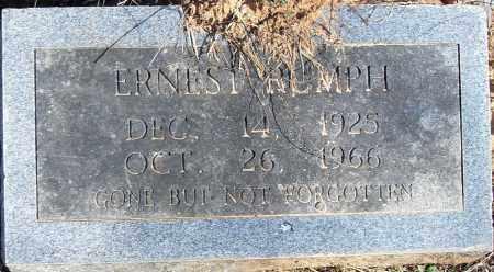RUMPH, ERNEST - Pulaski County, Arkansas | ERNEST RUMPH - Arkansas Gravestone Photos
