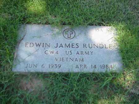 RUNDLE (VETERAN VIET), EDWIN JAMES - Pulaski County, Arkansas | EDWIN JAMES RUNDLE (VETERAN VIET) - Arkansas Gravestone Photos