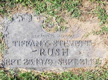 RUSH, TIFFANY STEVETTE - Pulaski County, Arkansas   TIFFANY STEVETTE RUSH - Arkansas Gravestone Photos