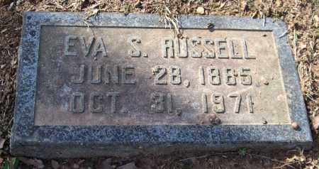 SHOPPACH RUSSELL, EVA FRANCES - Pulaski County, Arkansas | EVA FRANCES SHOPPACH RUSSELL - Arkansas Gravestone Photos