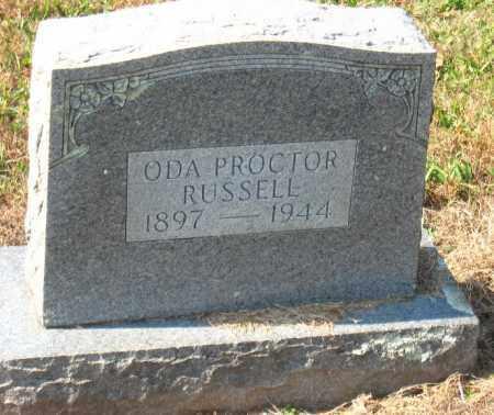 RUSSELL, ODA - Pulaski County, Arkansas   ODA RUSSELL - Arkansas Gravestone Photos