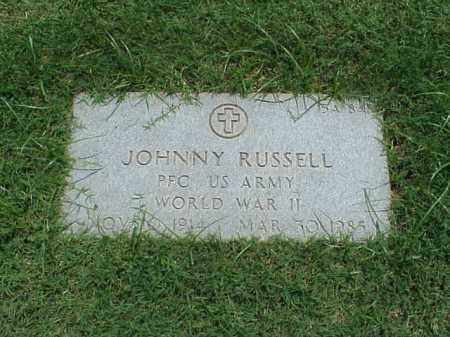 RUSSELL (VETERAN WWII), JOHNNY - Pulaski County, Arkansas   JOHNNY RUSSELL (VETERAN WWII) - Arkansas Gravestone Photos