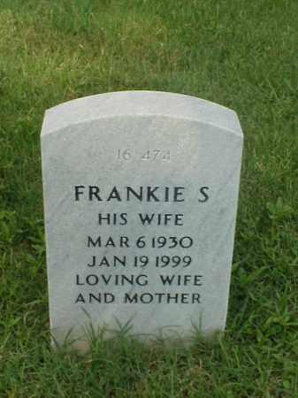 RUTHERFORD, FRANKIE S - Pulaski County, Arkansas | FRANKIE S RUTHERFORD - Arkansas Gravestone Photos