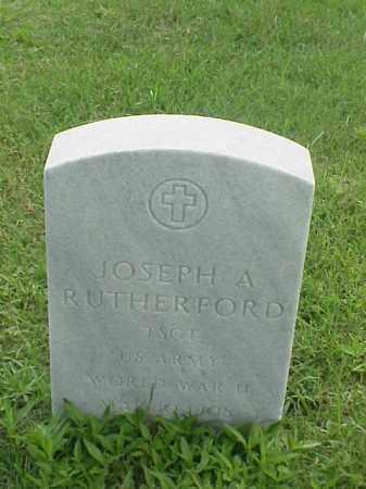 RUTHERFORD (VETERAN WWII), JOSEPH A - Pulaski County, Arkansas   JOSEPH A RUTHERFORD (VETERAN WWII) - Arkansas Gravestone Photos