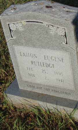 RUTLEDGE, LAITON EUGENE - Pulaski County, Arkansas | LAITON EUGENE RUTLEDGE - Arkansas Gravestone Photos