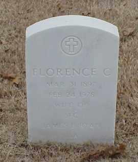 RYAN, FLORENCE C - Pulaski County, Arkansas | FLORENCE C RYAN - Arkansas Gravestone Photos