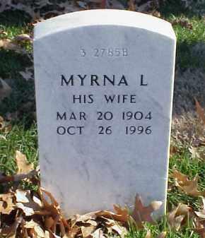 RYAN, MYRNA L - Pulaski County, Arkansas   MYRNA L RYAN - Arkansas Gravestone Photos
