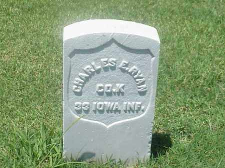 RYAN (VETERAN UNION), CHARLES E - Pulaski County, Arkansas | CHARLES E RYAN (VETERAN UNION) - Arkansas Gravestone Photos