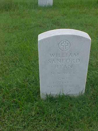 RYAN (VETERAN WWII), WILLIAM SANFORD - Pulaski County, Arkansas | WILLIAM SANFORD RYAN (VETERAN WWII) - Arkansas Gravestone Photos