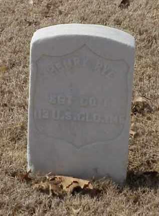 RYE (VETERAN UNION), HENRY - Pulaski County, Arkansas   HENRY RYE (VETERAN UNION) - Arkansas Gravestone Photos